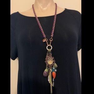 Betsy Johnson Vegetable Necklace